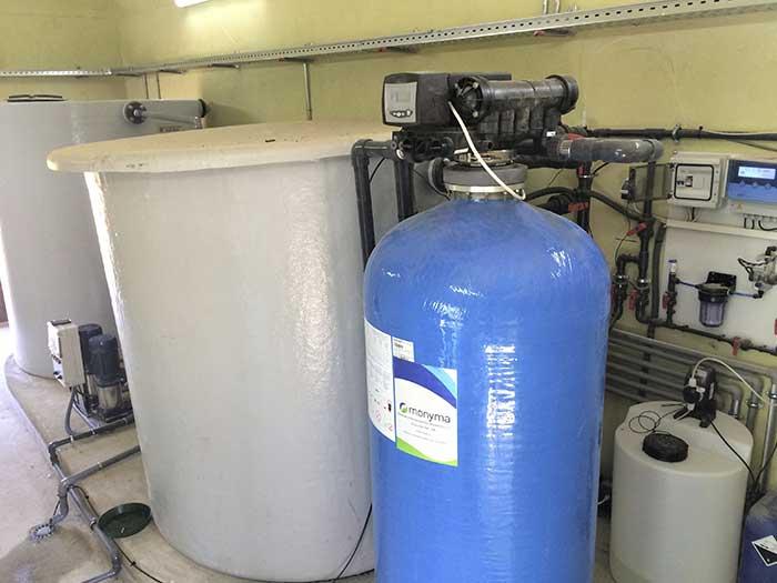 agua potable finca
